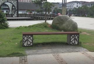 不锈钢艺术坐凳