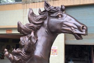 铸铜马雕塑