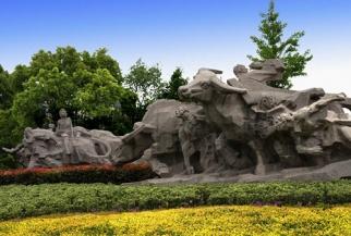 石材雕塑-牛